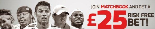 Matchbook free bet bonus