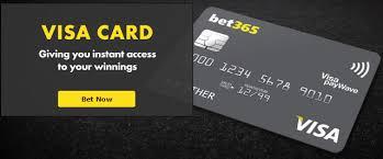 BET365 visa card