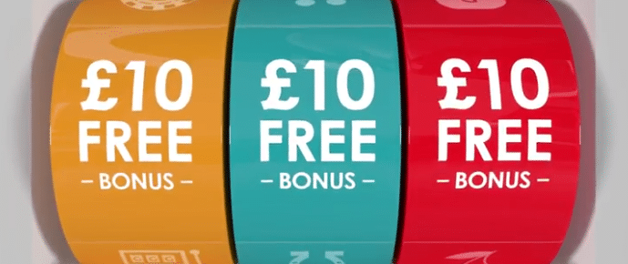 10 free bonus on Gala Casino
