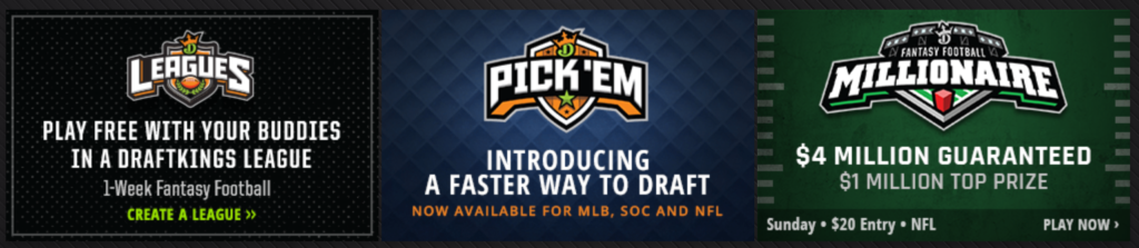 draft kings bonuses