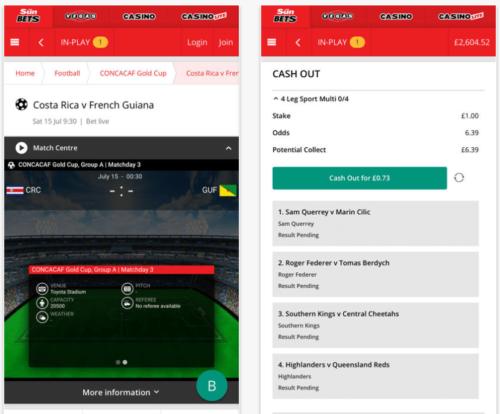 sun bets mobile app
