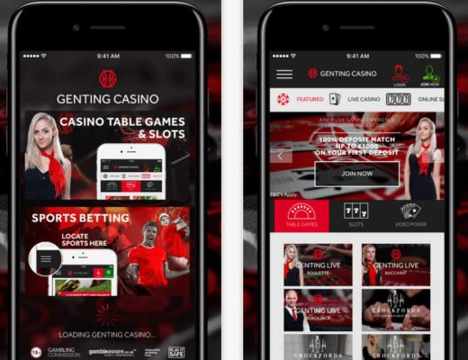 genting casino app screenshots