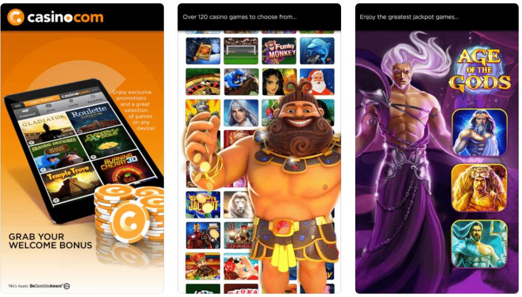 casino.com apps