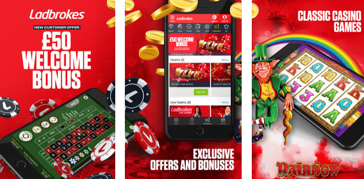 ladbrokes casino app and promotional code