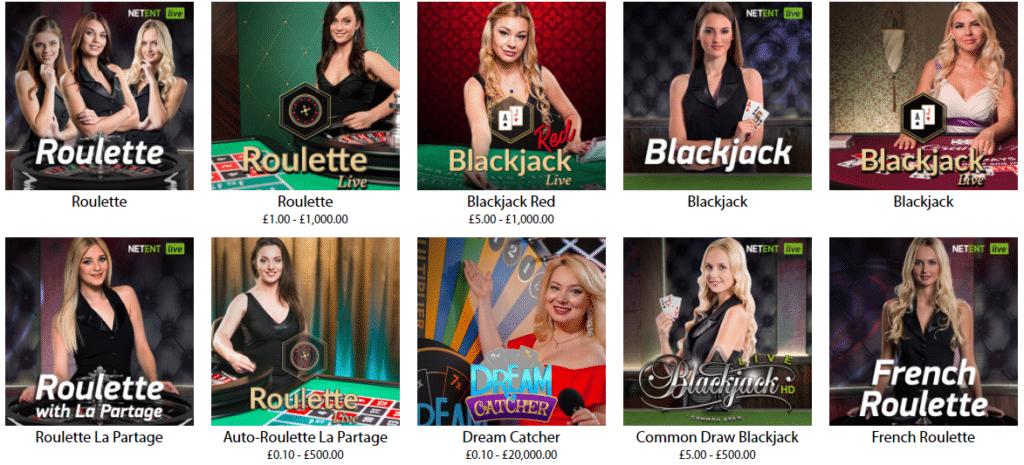 redbet-live-casino-games
