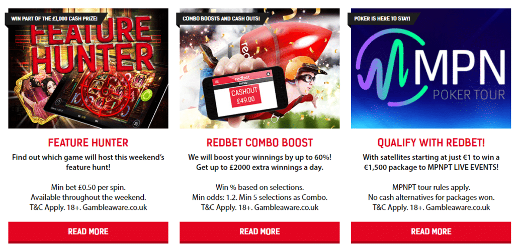 redbet other offers