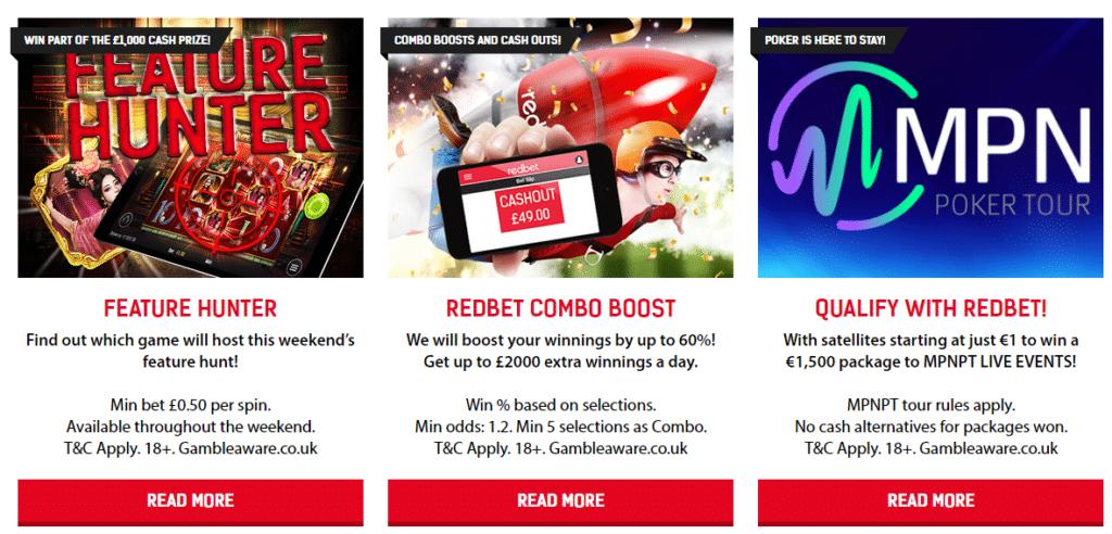 Redbet bonus code