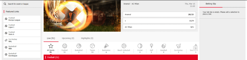 redbet sportsbook