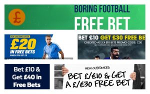 Latest Betting Offers for 2018