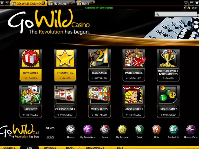 Promo Code Go Wild Casino