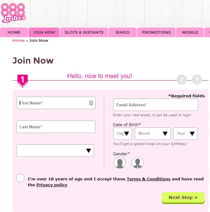 888 ladies promo code 2019