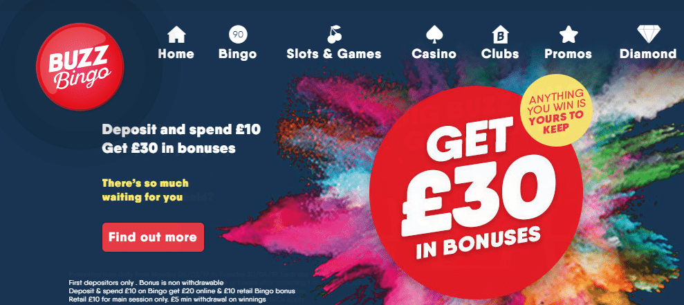 Buzz Bingo Bonus Codes for UK in 2020