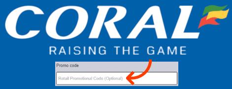 coral promo code