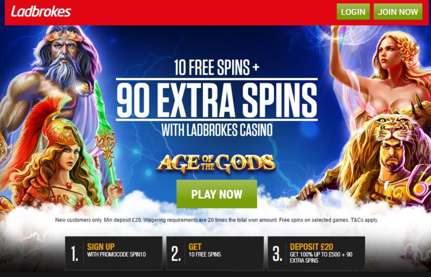 Ladbrokes Free Games