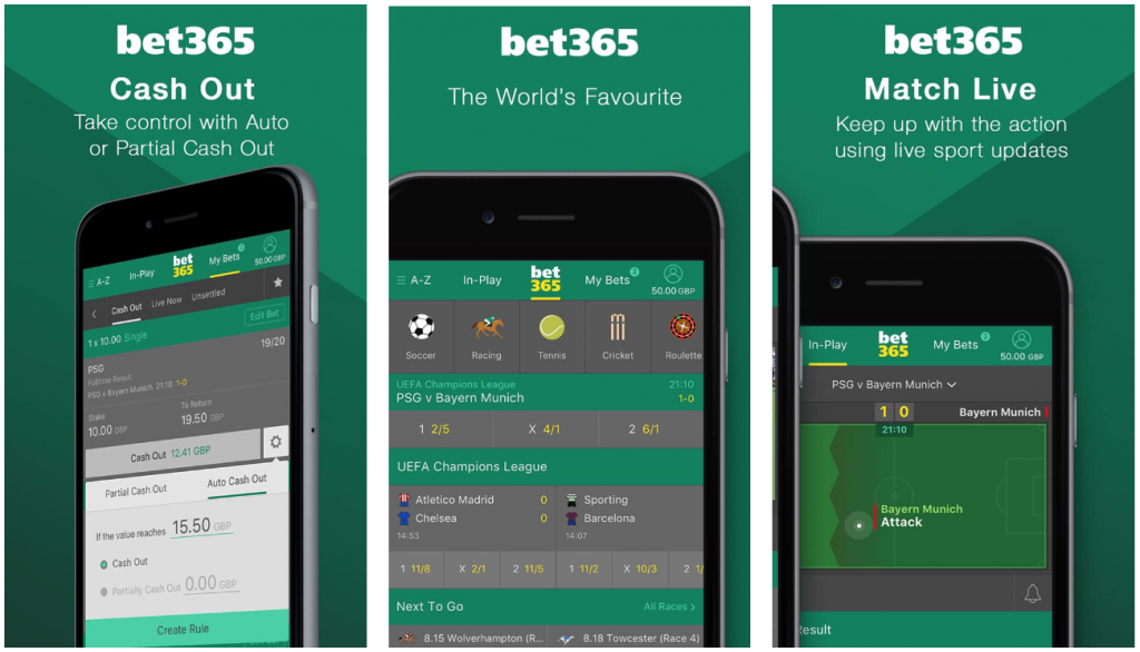 bet365 bonus code 365APP for Mobile