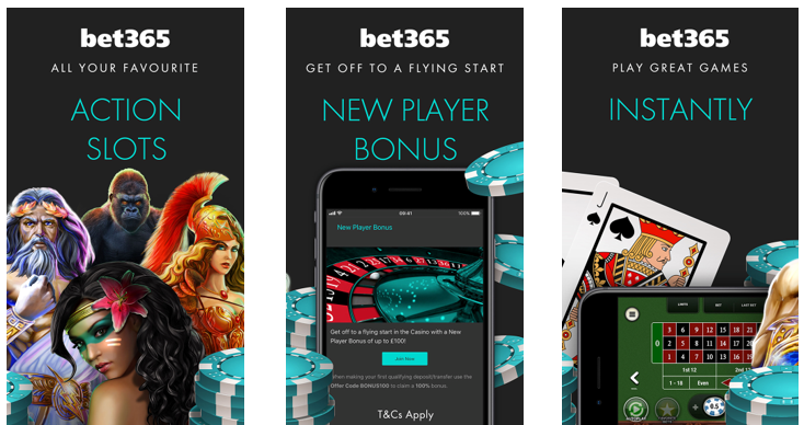 bet365 Casino bonus code 365APP for UK