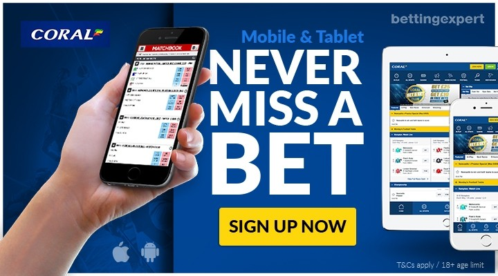 Coral Mobile Betting