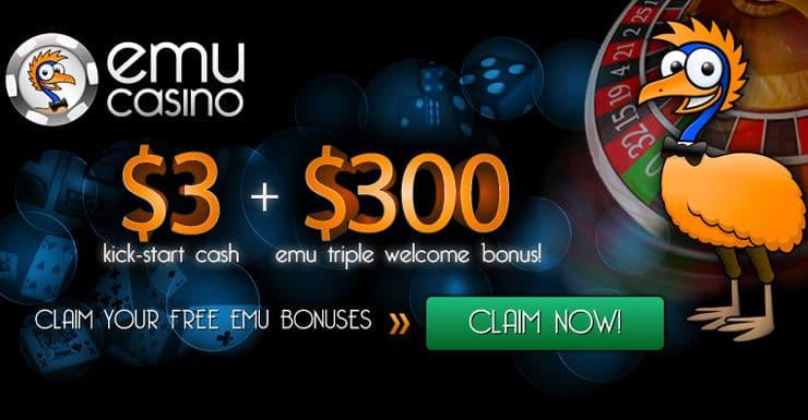 EMU Casino Sign-Up Code