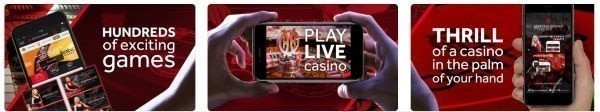 Live gambling