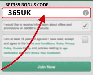 Bet365 Bonus Code 2020