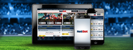 Sign up on the Netbet mobile apps