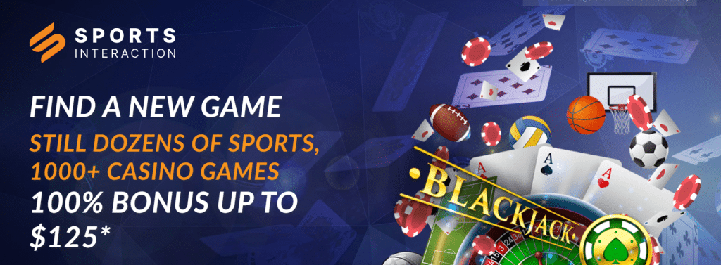 Sports interaction casino bonus